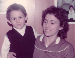 Anni 70 - zia con gianmarco