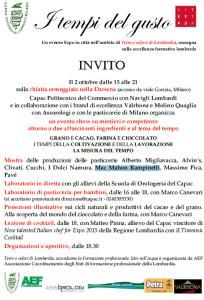 Locandina Evento Expo 2 ottobre Darsena